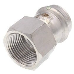 ProPress 316 Stainless Steel Female Adapters (P x FPT)