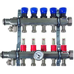Viega ProRadiant Stainless Steel Manifolds