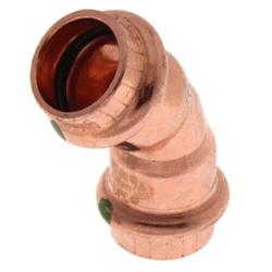 Viega ProPress Copper 45 Elbows