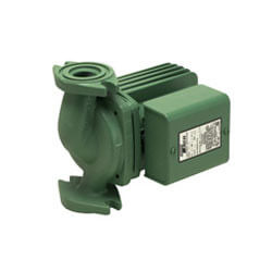 0011 Variable Speed/Voltage Cast Iron Circulator Pump, Rotated Flanged 1/8 HP Product Image
