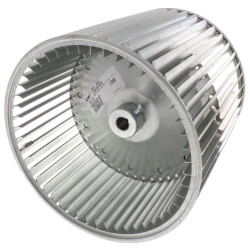 """10-5/8"""" Double Inlet Blower Wheel w/ A Series Belt Drive (3/4"""" Bore) Product Image"""