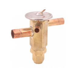 """ACP 9 IE 3/8"""" x 3/8"""" x 1/2"""" (Flare) Angle Body Automatic Thermal Expansion Valve Product Image"""