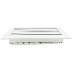 """10"""" x 4"""" Aluminum Curved Blade Register (A611MS Series) Product Image"""