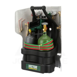 0-W-J and 2-W-J Oxy-Acetylene Brazing Kit with MC and R Tanks (G150-J-CPT) Product Image