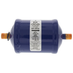 """3/8"""" ODF EK 083S Series Liquid line Filter Drier (8 Cubic Inches) Product Image"""