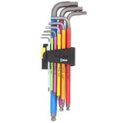 950/9 Hex-Plus Imperial 2 9-Piece L-Key Set w/ BlackLaser Surface Treatment (Multicolor) Product Image