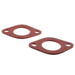 """1/8"""" Red Rubber Flange Gasket (Pack of 2) Product Image"""