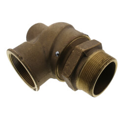 "2-1/2"" MNPT x 2-1/2"" FNPT RVS12 3,529 LBS/HR Capacity Low Pressure Relief Valve (15 psi) Product Image"