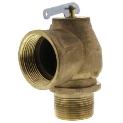"1-1/4"" MNPT x 1-1/2"" FNPT 1RVS13 1200 LBS/HR Low Pressure Steam Safety Valve (15 psi) Product Image"