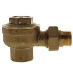 "3/4"" NPT Angle Radiator Steam Trap Product Image"
