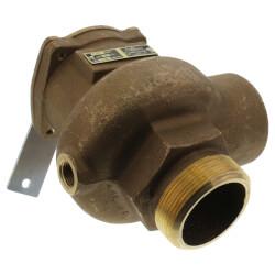 "3"" MNPT x 3"" FNPT RVS14 6843 BTU High Capacity Low Pressure Safety Valve (15 psi) Product Image"