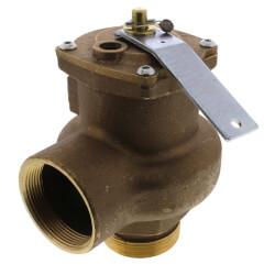 "2"" MNPT x 2"" FNPT RVS14 3150 BTU High Capacity Low Pressure Steam Safety Valve (15 psi) Product Image"