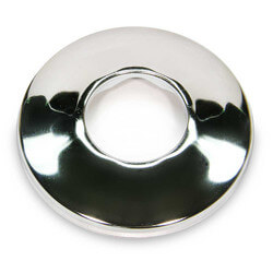"""3/8"""" IPS Chrome Plated Steel Low Escutcheon<br>(2-1/2"""" OD) Product Image"""