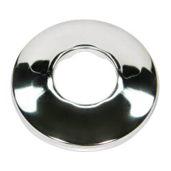 """1/2"""" IPS Chrome Plated Steel Low Escutcheon<br>(2-1/2"""" OD) Product Image"""