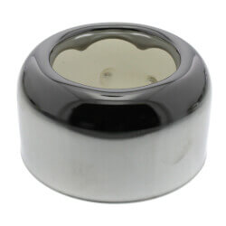 "1-1/2"" IPS Chrome-Plated Steel Box Escutcheon<br>(3"" OD) Product Image"