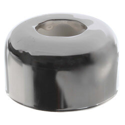 "1-1/4"" OD Sweat (Tubular Size) Chrome-Plated Steel Box Escutcheon (3"" OD) Product Image"