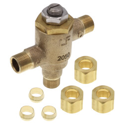 """3/8"""" Compression 170A-LF Exposed Thermostatic Mixing Valve for Faucets (.25 to 4.25 GPM) Product Image"""
