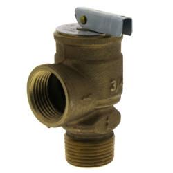 "3/4"" MNPT x 3/4"" FNPT RVW17 648,000 BTU Bronze Relief Valve (100 psi) Product Image"