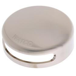 Innovator Snap-On Bathtub Overflow Faceplate Kit (Brushed Nickel) Product Image
