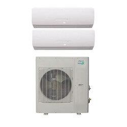 18,000 BTU InverterFlex Dual Zone Heat Pump Package (9+9) Product Image