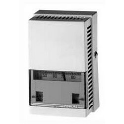 TH192S Direct Acting Single Temp. Room Thermo. w/ Exterior Knob Product Image