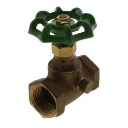 """1/2"""" Stop & Waste Valve (Lead Free, IPS) Product Image"""