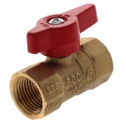 "1/2"" IPS Gas Ball Valve Product Image"