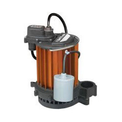 1/3 HP Model 231 Auto Submerisble Sump Pump 115V, Wide Angle Float Product Image
