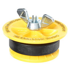 """3"""" End of Pipe Gripper Plug (17 PSI) Product Image"""