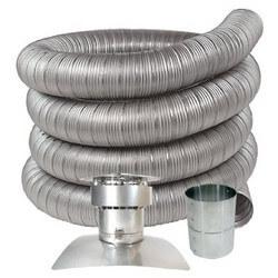 "3"" x 30 FT Stainless<br>Steel Oil Liner Kit (for Oil, Gas & Pellet Stoves) Product Image"