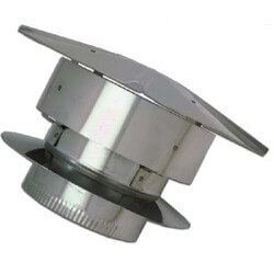 """5"""" Aluminum Deluxe Rain Cap Product Image"""