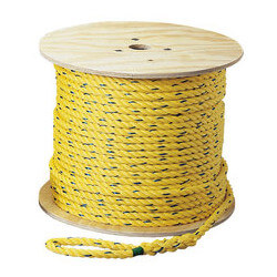 "Pro-Pull Polypropylene Rope, 1/4"" x 600 ft. Product Image"