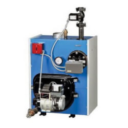 TR-30-HPT 104,000 BTU Output Water Oil Boiler Packaged w/ Tankless Heater, Coil & Burner Product Image