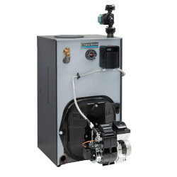 WTGO-3R - 85,000 BTU Output Cast Iron Gold Oil Boiler w/ Tankless Heater - Series 4 Product Image