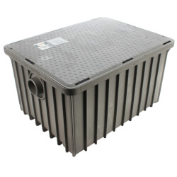 """70lb. 35 gpm Grease Trap (3"""" Connection) Product Image"""