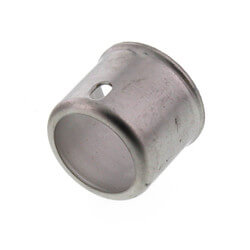 """1/2"""" Stainless Steel PEX Press Sleeve Product Image"""