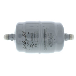 """C-163 3/8"""" SAE Flare Liquid Line Filter Drier 3/4 to 5 Ton (16 Cubic Inches) Product Image"""