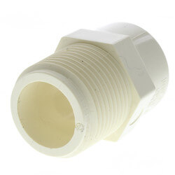 """3/4"""" CTS CPVC Male Adapter (MIPT x Socket) Product Image"""