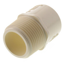"""1"""" CTS CPVC Male Adapter (MIPT x Socket) Product Image"""