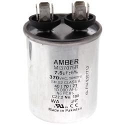 7.5 MFD Round Run Capacitor (370V) Product Image