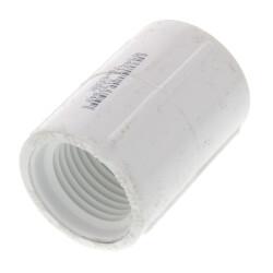 "1/2"" PVC Sch. 40<br>Coupling (FIPT) Product Image"