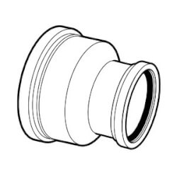 "8"" x 4"" PVC SDR 35 Cap (G x G) Product Image"