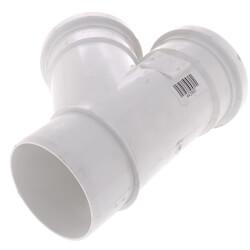 "6"" PVC SDR 35 1/8 Bend 45° Wye, Street (Spigot x G x G) Product Image"