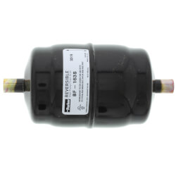 """3/8"""" ODF Male BF163S Bi-Flow Liquid Line Filter-Drier (16 Cubic Inches) Product Image"""
