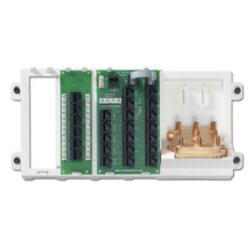 Advanced Home Telephone and Video Panel - White Product Image