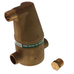"3/4"" Brass 4900 Series Air Separator (Sweat) Product Image"