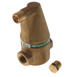 """3/4"""" Brass 4900 Series Air Separator (Threaded) Product Image"""