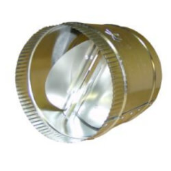 """4"""" Butterfly Damper Product Image"""
