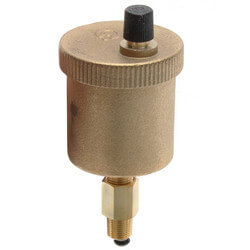 """1/8"""" Male NPT MINICAL Automatic Air Vent w/ Service Check Valve Product Image"""