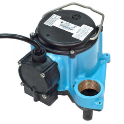 6-CIA, 1/3 HP, 46 GPM at 5 FT Head - Automatic Submersible Sump Pump, 10 ft Power Cord Product Image